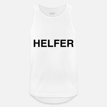 Helper Helper - Men's Sport Tank Top