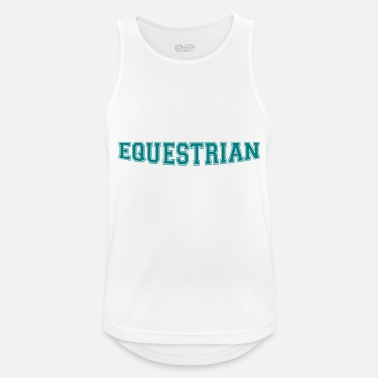 Writing Equestrian Writing - Débardeur sport Homme