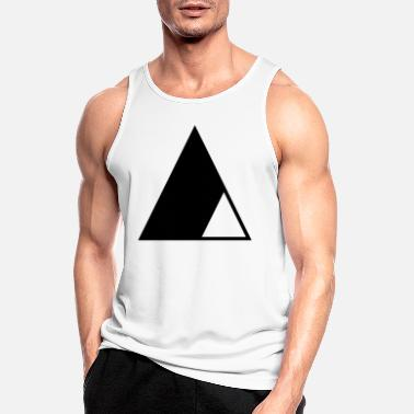 Triangle Triangle in the triangle - Men's Sport Tank Top