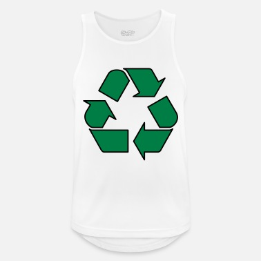 Enviromental Recycle - Men's Sport Tank Top