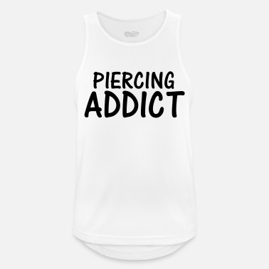Pierce piercing addict - Men's Sport Tank Top