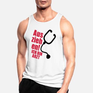 Healthy Underwear Off! I'm a doctor - Men's Sport Tank Top