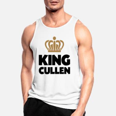 Cullen King cullen name thing crown - Men's Sport Tank Top
