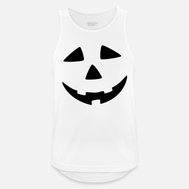 Scary halloween face! Costume Party - Men's Sport Tank Top