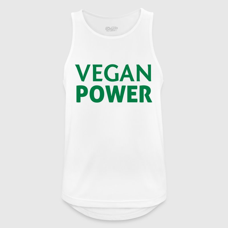 Vegan Power - Men's Breathable Tank Top