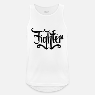 Fighter fighter - Mannen sport tank top