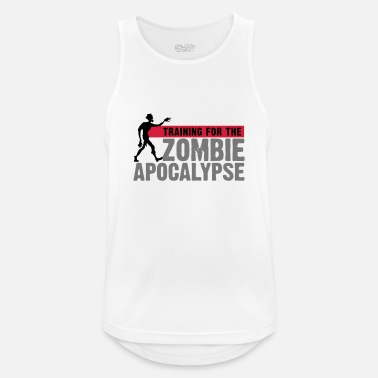 Training Training For The Zombie Apocalypse - Men's Sport Tank Top