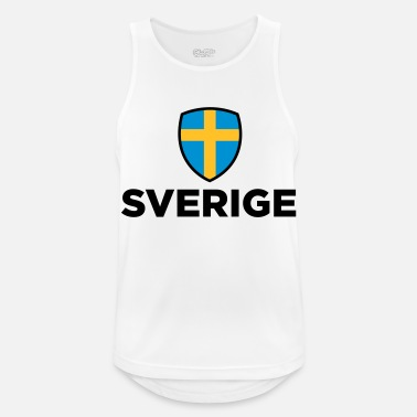 Sweden National flag of Sweden - Men's Sport Tank Top