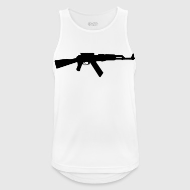AK-47 assault rifle - Men's Breathable Tank Top