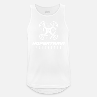 Model Airplane Hopertrain Freestyle drone - Men's Sport Tank Top