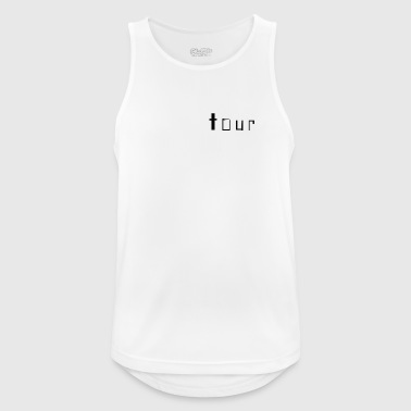 brand name - Men's Breathable Tank Top
