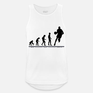 Sports Evolution Basketball Sports Ball Love Love - Camiseta sin mangas hombre transpirable