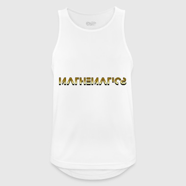 Matemáticas Matemáticas - Matemáticas - Camiseta sin mangas hombre transpirable