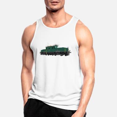 Swiss electric locomotive Electric locomotive - Men's Sport Tank Top