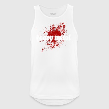 Heavy Metal - Pustende singlet for menn