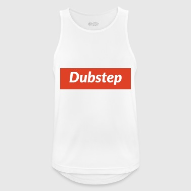 dubstep - Camiseta sin mangas hombre transpirable
