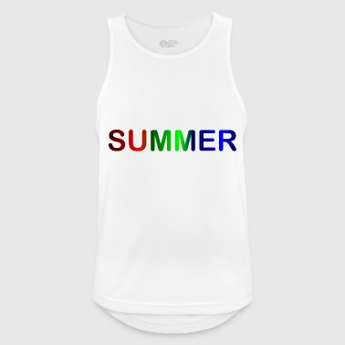 Summer / summer - Men's Breathable Tank Top