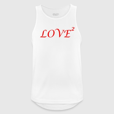 Lovely LOVE love Loved love romantic i love - Men's Breathable Tank Top