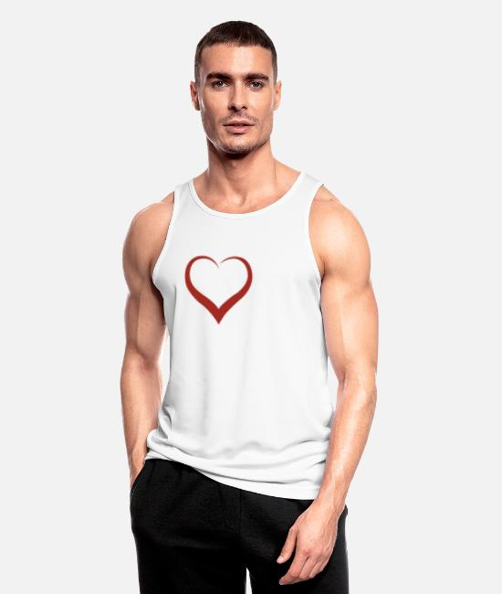 Horseshoe Tank Tops - Horsewoman - Horse - Horses - Riding - Gift - Men's Sport Tank Top white