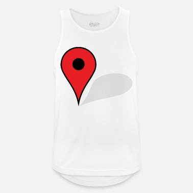 Map map - Men's Breathable Tank Top
