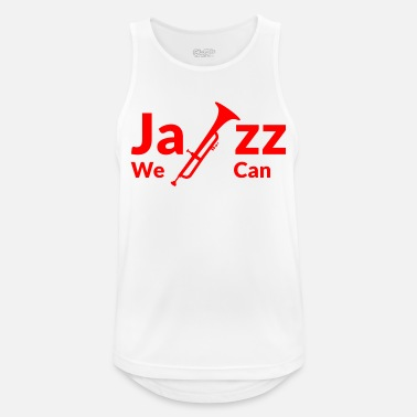 Yes We Can JAZZ WE CAN - rouge - Débardeur respirant Homme