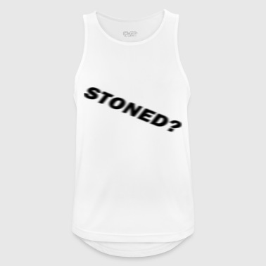 stoned? - Men's Breathable Tank Top