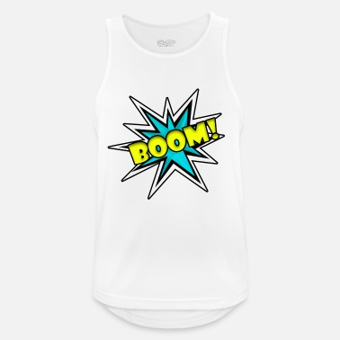 Comic Book Comic Book Boom - Men's Sport Tank Top