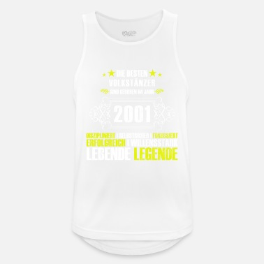 Age Gift for the 16th birthday of the dancers - Men's Sport Tank Top