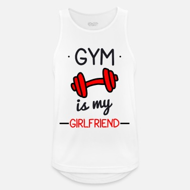 Body Building Gym is my girlfriend : Body building,bodybuilding - Männer Tank Top atmungsaktiv