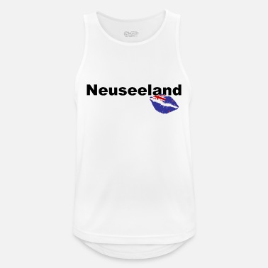 Canterbury New Zealand - New Zealand - Kiss Kiss Love Aotearoa - Men's Sport Tank Top