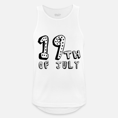 Reminder 19th of July - Men's Sport Tank Top