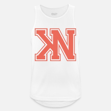Varsity pink varsity - Men's Breathable Tank Top