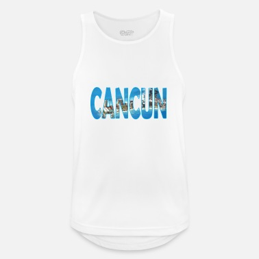 Cancun CANCUN MEXICO - Men's Breathable Tank Top