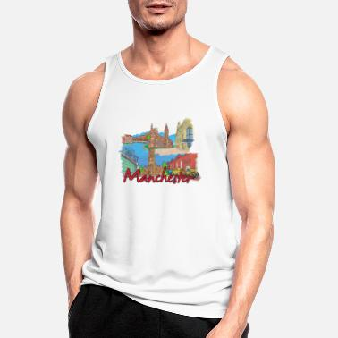 Family Crest My favorite city design - Manchester - Men's Sport Tank Top