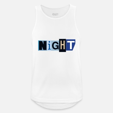 At Night Night - Men's Breathable Tank Top
