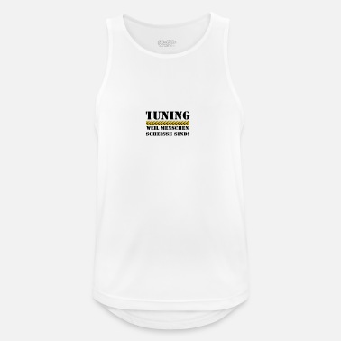 Tuning tuning - Men's Breathable Tank Top