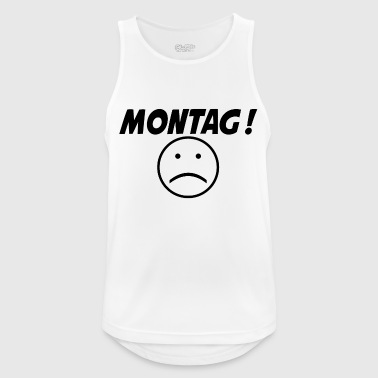Monday! :( - Men's Breathable Tank Top