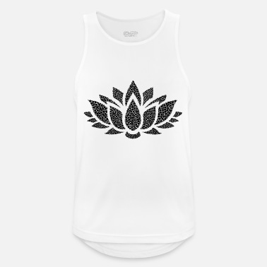 lotus - Men's Breathable Tank Top