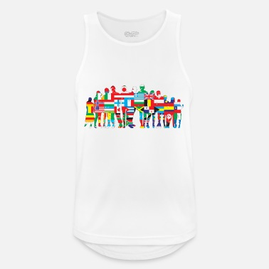 National Nations - Men's Breathable Tank Top