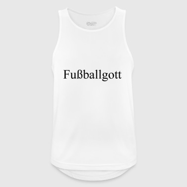 Fußball schwarz - Men's Breathable Tank Top