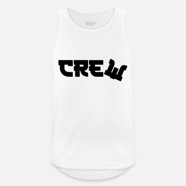 Gang crewbacca new Crew or not - Männer Sport Tanktop