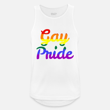 Orgullo Gay Orgullo Gay - Camiseta sin mangas hombre transpirable
