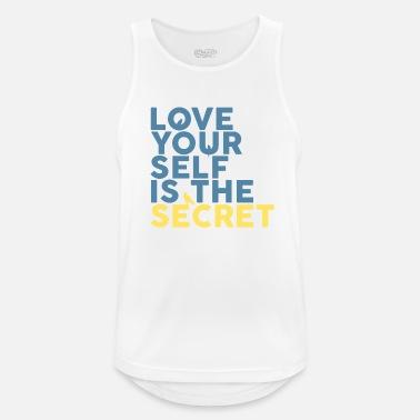 The Secret Love Yourself Is The Secret - Men's Sport Tank Top
