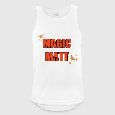 Magic Matt Sports wear - Men's Breathable Tank Top