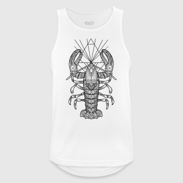 Geometric Lobster - Männer Tank Top atmungsaktiv