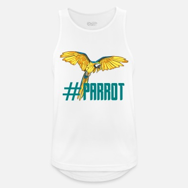 Loret hashtag parrot english ornithology gift - Men's Sport Tank Top