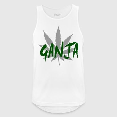 Ganja ganja - Men's Breathable Tank Top