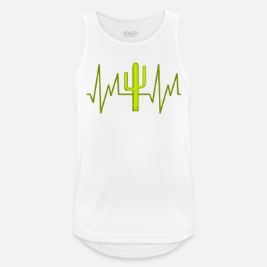Cactus Cactus Desert Plant Prickly Gift - Sports tanktop mænd