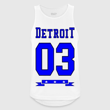 State United States - Men's Breathable Tank Top