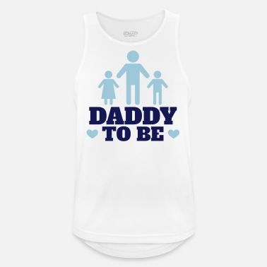 Daddy Daddy to be - Men's Breathable Tank Top